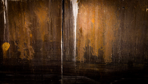 abstract art wall rust quebec