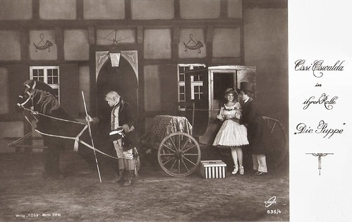 Ossi Oswalda and Hermann Thimig in Die Puppe