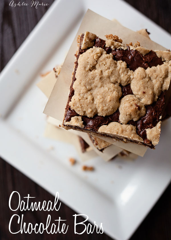 everyone loves these oatmeal chocolate bars, they are easy to make and taste amazing