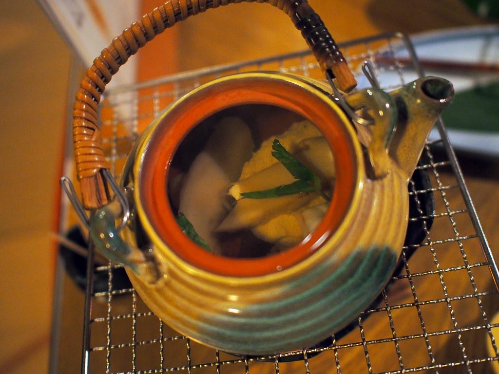 Japanese Kawadoko Kaiseki Style