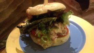 Chicken Burger at Yong Green Food