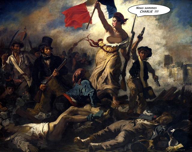 La liberté guidant le peuple / Liberty Leading the People
