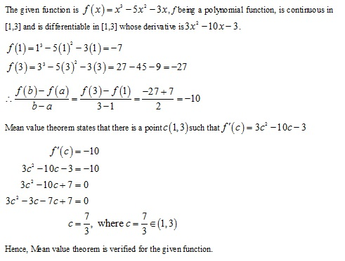 RD Sharma Class 12 Solutions Chapter 15 Mean Value Theorems Ex 15.2 Q1-xvi