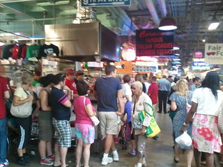 Image of Italian market. philadelphia reading pennsylvania pa