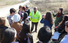 Caddo Magnet HS visit: Woolworth Rd Landfill