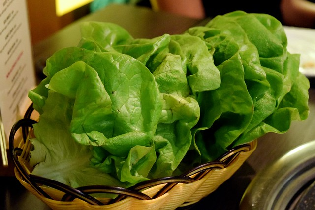 Lettuce at Koba, Fitzrovia
