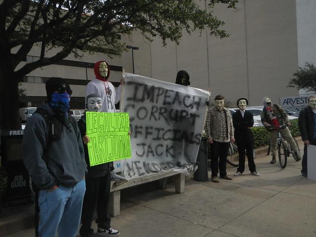 Hacktivist Protest?