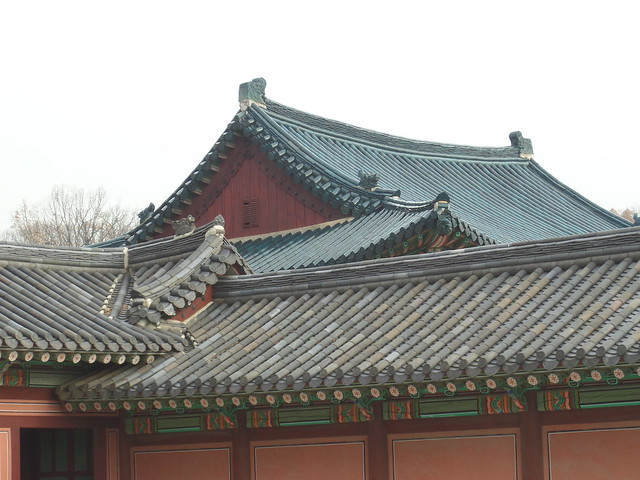 Blue Roof at Changdeokgung Palace