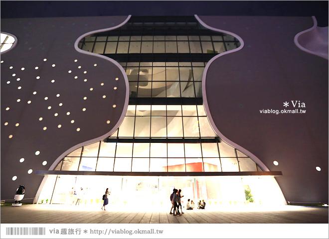 【大都會歌劇院】台中國家歌劇院~夜間水舞篇。光舞紀/光影藝術節4
