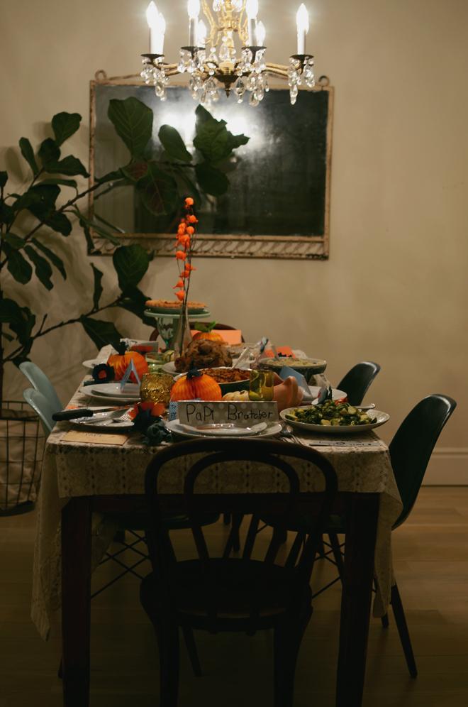mini thanksiving feast 2014