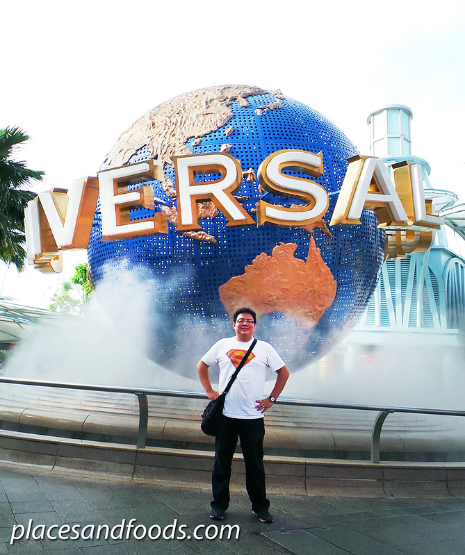 universal studio singapore places and foods