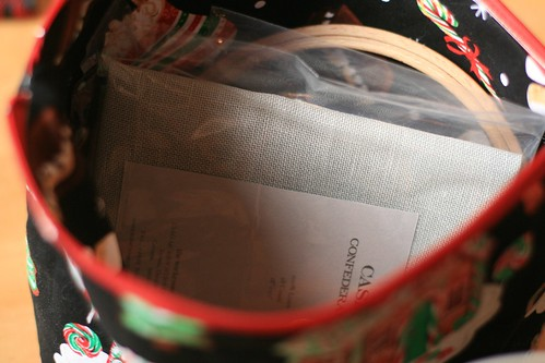 Festive bags - insides