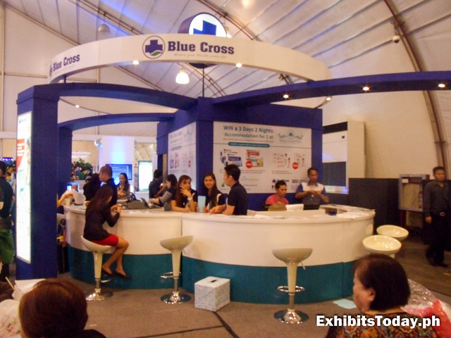 Blue Cross Exhibit Booth