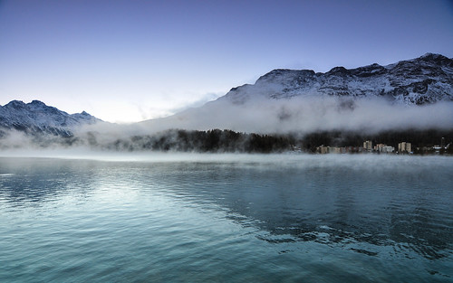morning sky mist lake snow alps sunrise dawn switzerland frozen twilight nikon purple tokina engadin stmoritz glacial d90 galgenen tokinaaf1116mmf28 atx116prodx cantonofschwyz