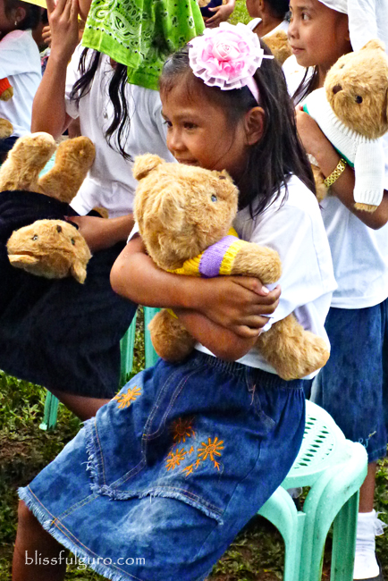 1000 Bear Hugs Project at Patikul, Sulu