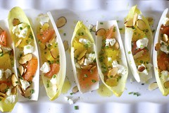 Endives with Oranges and Almonds