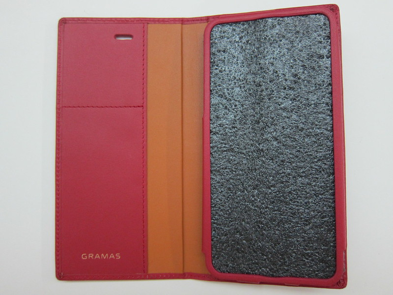 GRAMAS Full Leather Case - Open