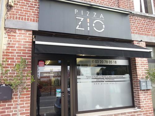 Pizza zio façade saint andré