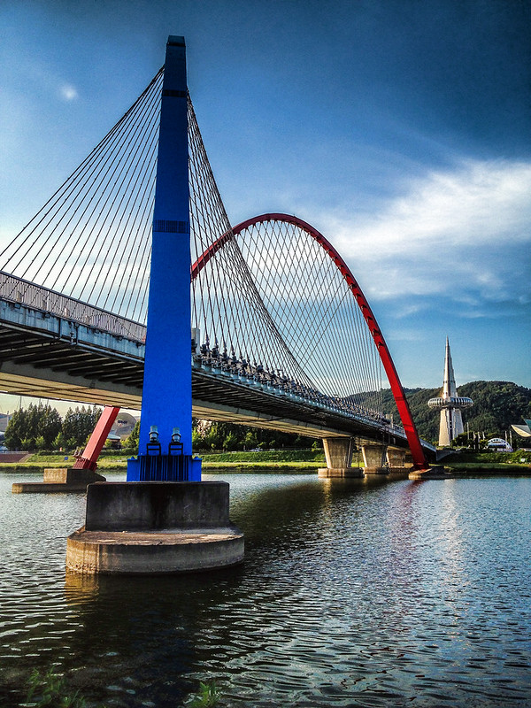Expo Bridge, Daejeon, Korea