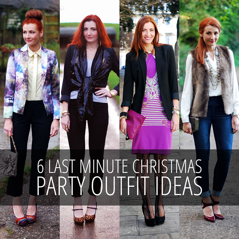 6 last minute christmas party outfit ideas less formal for Last minute party ideas