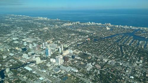 florida aerial aerialphoto aerialphotography ftlauderdale htc avgeek downtownfortlauderdale htconem8