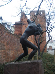 Statue, Old Town, Warsaw, Poland