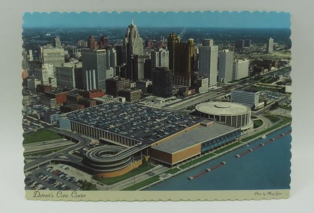 Civic Center, Detroit, Michigan