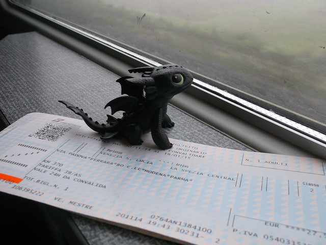 30/52 : Toothless in train, Fujifilm FinePix AX600