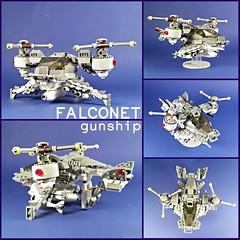 Separatist Army AAM Falconet Gunship
