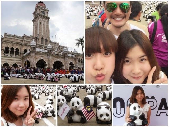 1600 pandas in Malaysia Jean