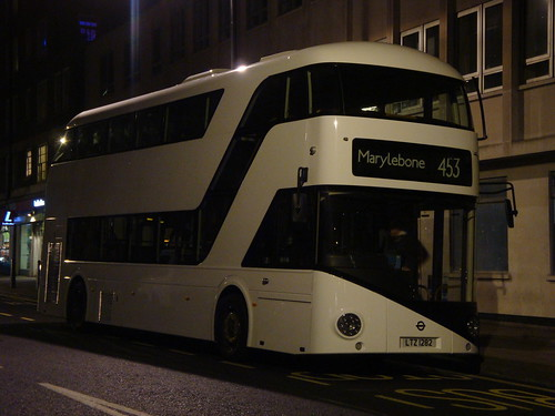 London General LT282 (White) on Route 453, Marylebone