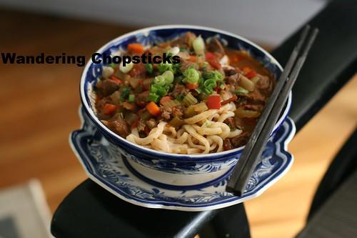Uzbek Lagman (Lamb Noodle Soup) 2