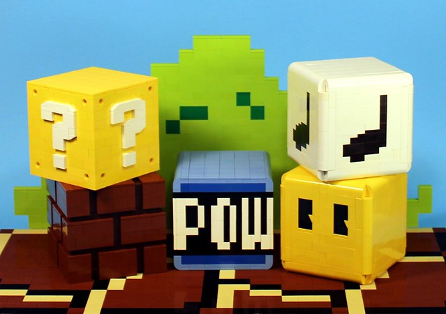 Lego Super Mario Blocks Are Ready For Punching The