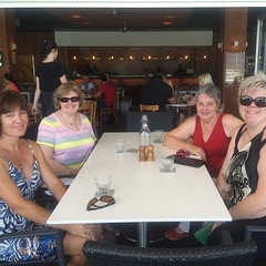 Ladies who lunch! Love catching up with the Cairns Ravellers xxx
