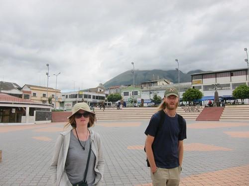 Walking in Ibarra