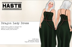 [Haste] Dragon Lady Dress @ Tales of Fantasy