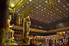 Inside of Buddha Tooth Relic Temple (Singapore)