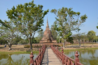 Imagen de Wat Sa Si. travel nature thailand bangkok culture buddhism temples chiangmai krabi lanna tempel sukhothai lampang kolanta ayutthaya reizen 2014 arps paularps afsdxnikkor18140mm