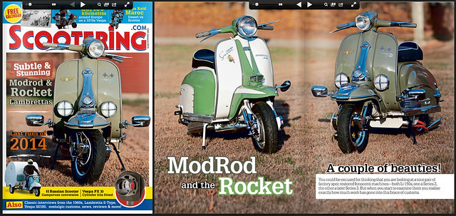 Vintage Scoot/Brezelwerks for Scootering Magazine