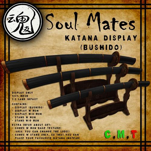 [Soul Mates] Katana Display Bushido Ad