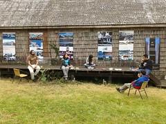 La primera muestra Itinerante de Arquitectura del Bordemar de Chiloé fue organizada por la delegación Chiloé del Colegio de Arquitectos de Chile y corresponde a una recopilación de arquitectura realizada en el bordemar de distintas ciudades de Chiloé.