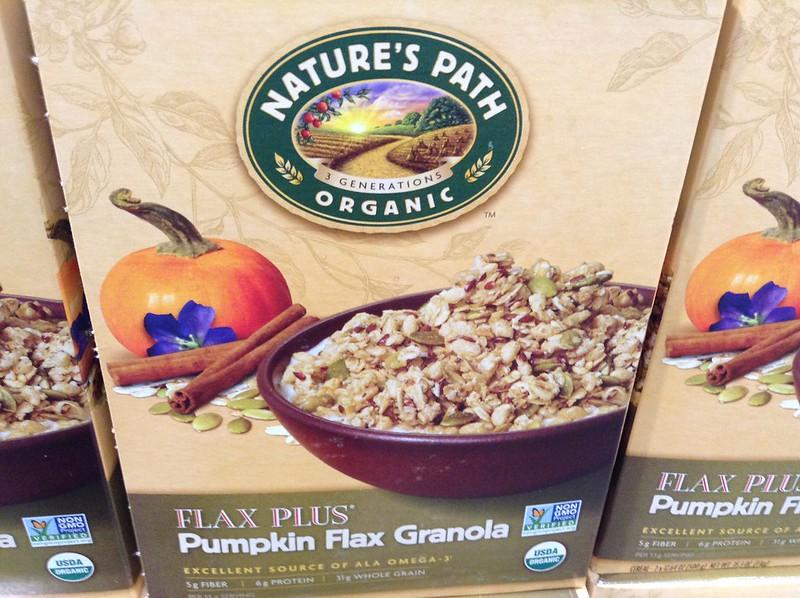 Pumpkin Spice, Flax Granola