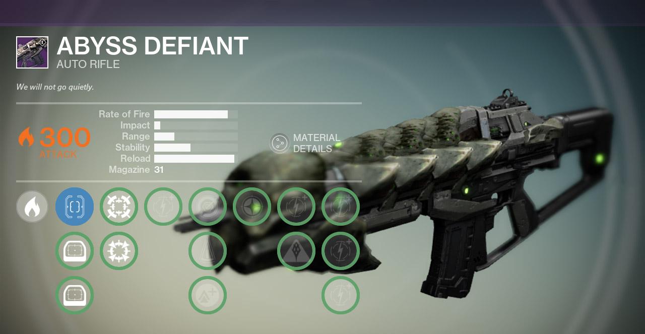 Destiny Abyss Defiant