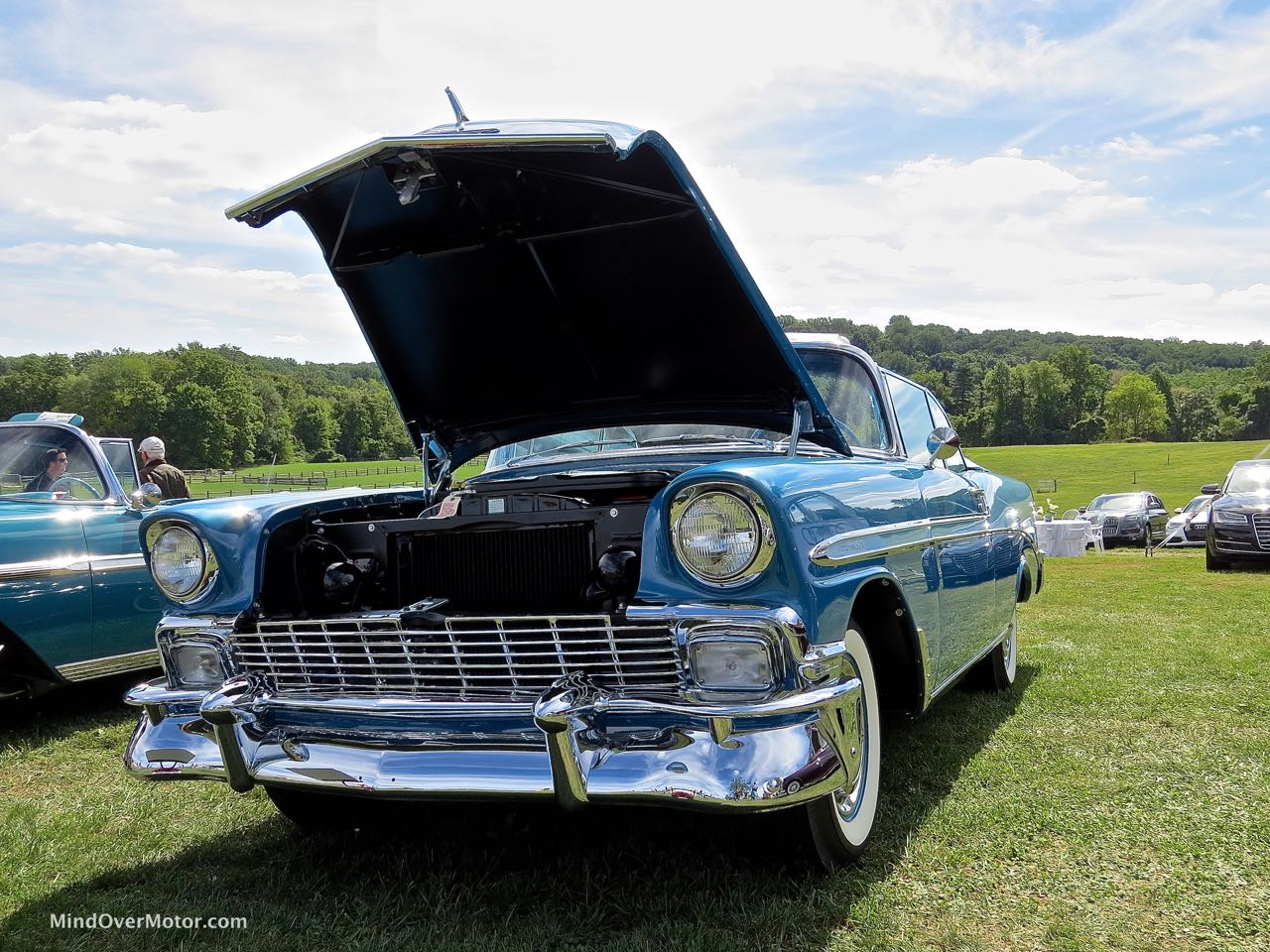 1956 Chevrolet Bel Air Convertible Front