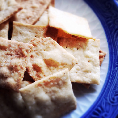 Sea, Salt, White, Pepper, Crackers,, recipe, chinese style, wheat thins,  海鹽, 白胡椒, 脆餅