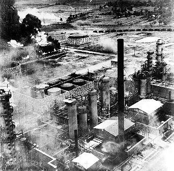 Bombardeo de la refinería de Ploiesti. 1943