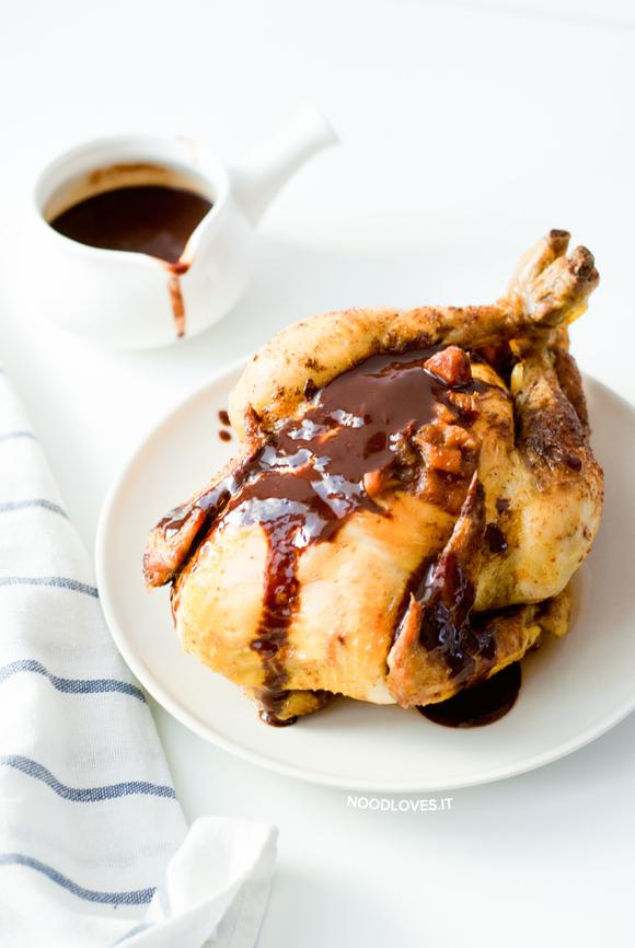Pollo al cioccolato