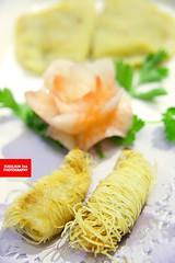 金丝虾 (Prawns Wrapped In Golden Vermicelli)