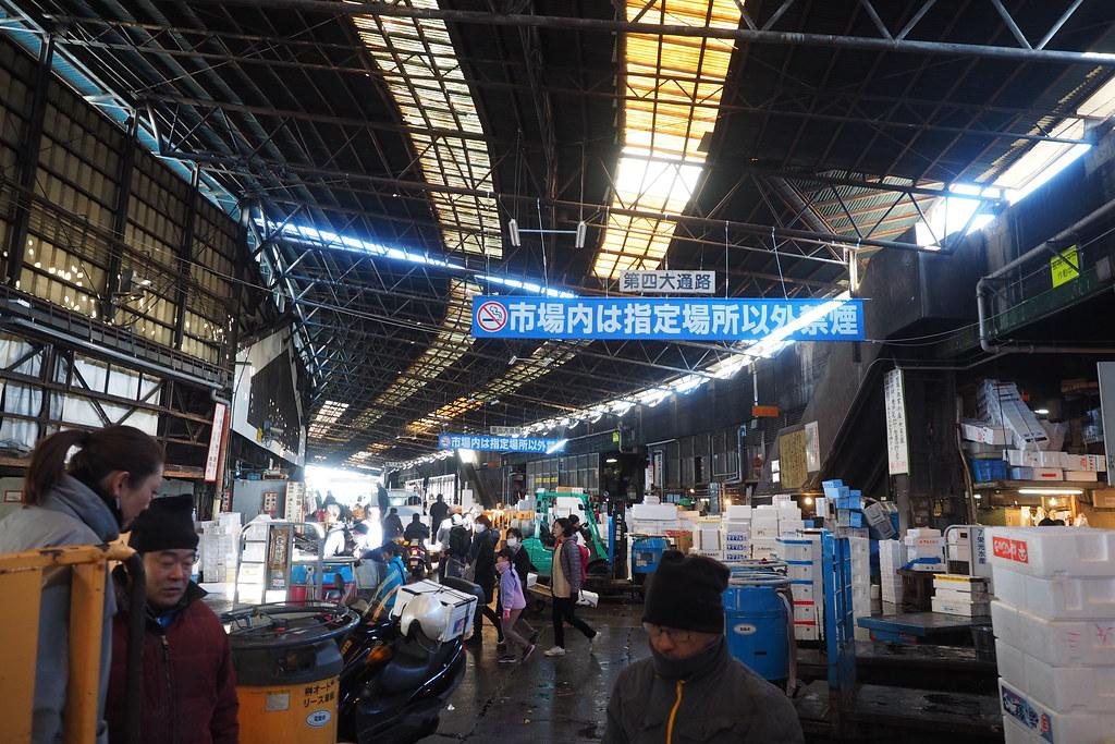 築地市場, Tsukiji Market