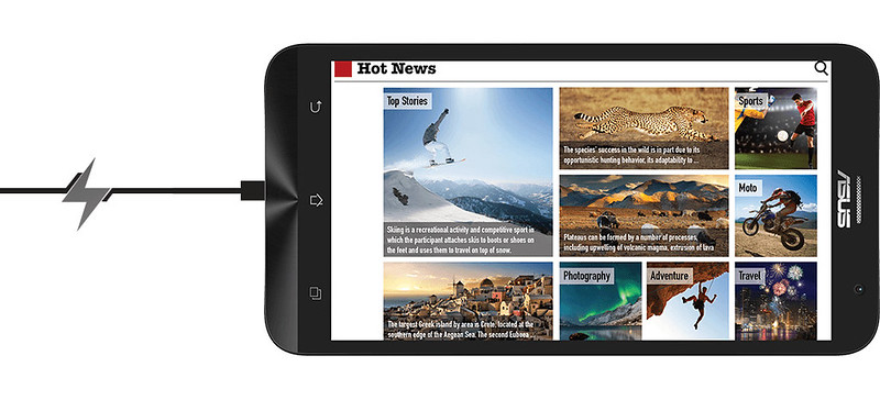 Asus Zenfone 2 mạnh mẽ trong thiết kế lẫn phần cứng - 59970